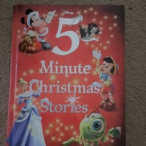New Disney 5 MINUTE CHRISTMAS STORIES Book
